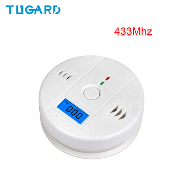 цена на 85dB High Sensitive Photoelectric Independent LCD CO Gas Sensor Carbon Monoxide Poisoning Alarm Detector for Home Security