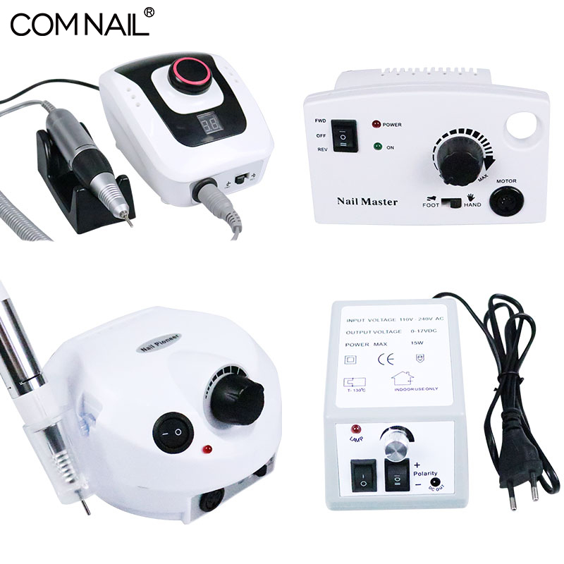 35000 RPM 30W Electric Nail Drill Bits Set Mill Cutter Machine for Manicure 4 Colors Nail Drill Tools Nail Art Equipment
