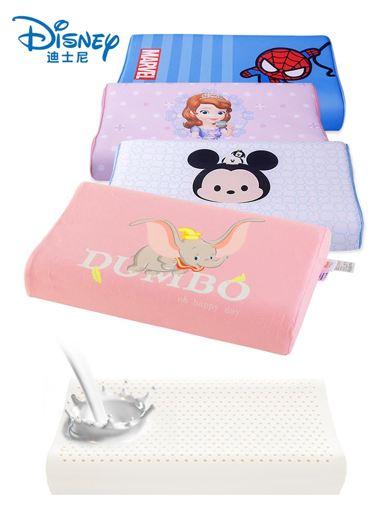 Disney Children's latex pillow Soft Pillow For Cervical Health Care Memory Foam Pillow Orthopedic Pillow Latex Neck Pillow