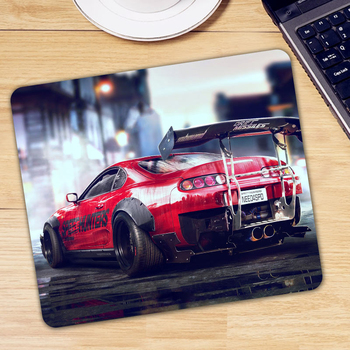 Cool Car Printed Non-slip Rubber Small Size Office Laptop Desk Mice Mat Mousepad Computer Gaming Mause Mouse Pad image