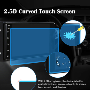 Image 3 - Podofo 2 din Android 8.1 Radio GPS Car Multimedia Player 2Din Universal for Toyota VIOS CROWN CAMRY HIACE PREVIA COROLLA RAV4