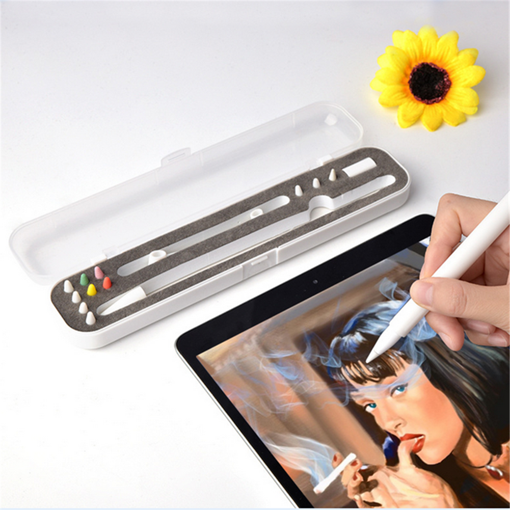 Brand New Multi Functional Creative Pencil Box Storage Case Holder For Apple Pencil 1 2 Au In Storage Boxes Bins From Home Garden On Aliexpress