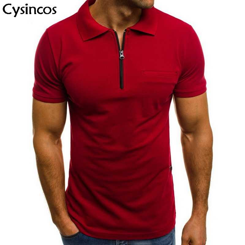 High Quality Men Cotton  Shirt 2019 New Summer Casual Short Sleeve Business Solid Slim Fit  Shirt Fashion Fitness Shirts