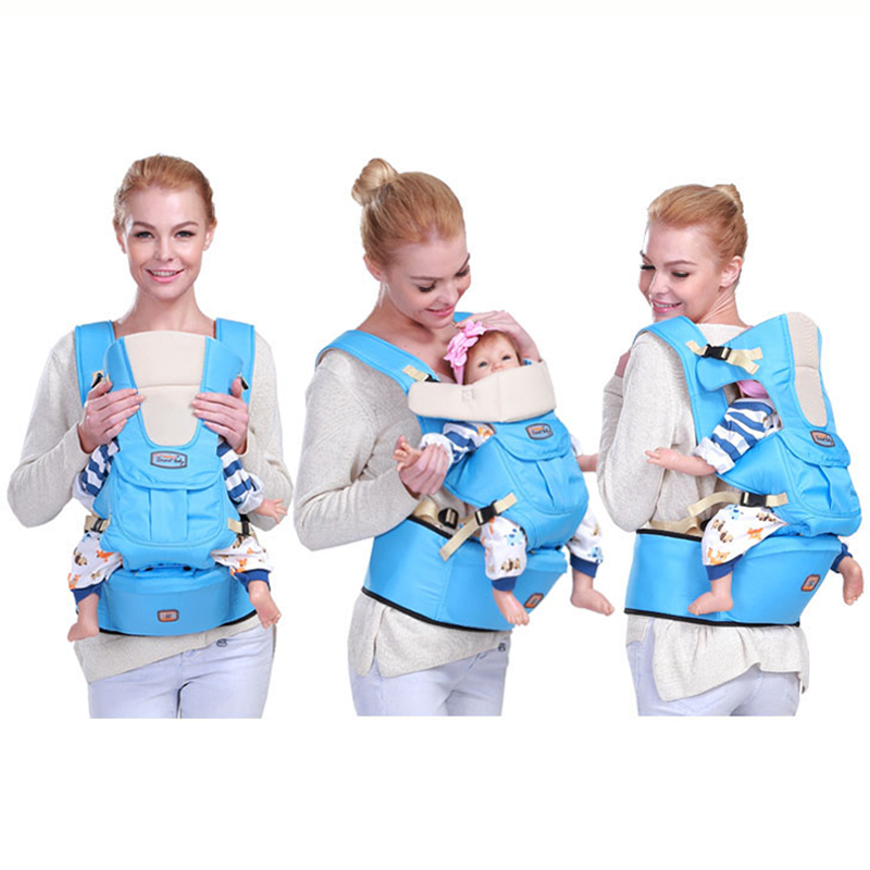 0-36 Months Infant Back Kangaroo Ergonomic Baby Carrier Sling Backpack Bag Baby Hipseat Wrap For Newborns Hip Seat Hiking