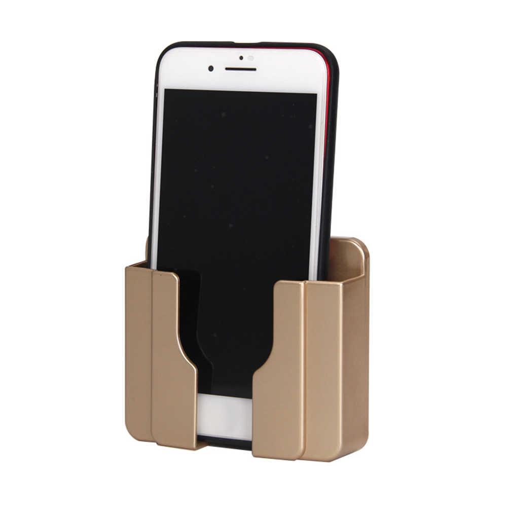 Do dekoracji domu uchwyt ścienny uchwyt do ładowania telefonu ładowarka pudełko do przechowywania uchwyt na telefon komórkowy uniwersalny stojak wyświetlacz wsparcie