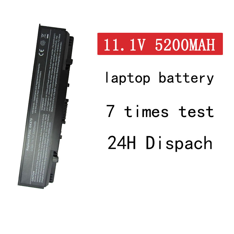 HSW 5200mah <font><b>battery</b></font> for <font><b>Dell</b></font> <font><b>Inspiron</b></font> <font><b>1720</b></font> 530s 1520 1521 1721 Vostro 1500 1700 312-0576 312-0590 312-0594 312-0589 312-0504 image