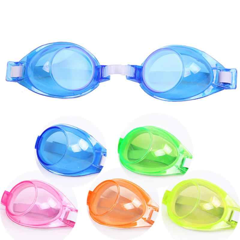 Children Professional Swimming Goggles Swimming Glasses With Earplugs Nose Clip Electroplate Waterproof Silicone Glasses Eyewear
