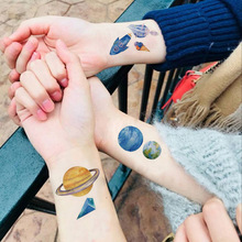 Waterproof Moon Temporary Tattoo Stickers