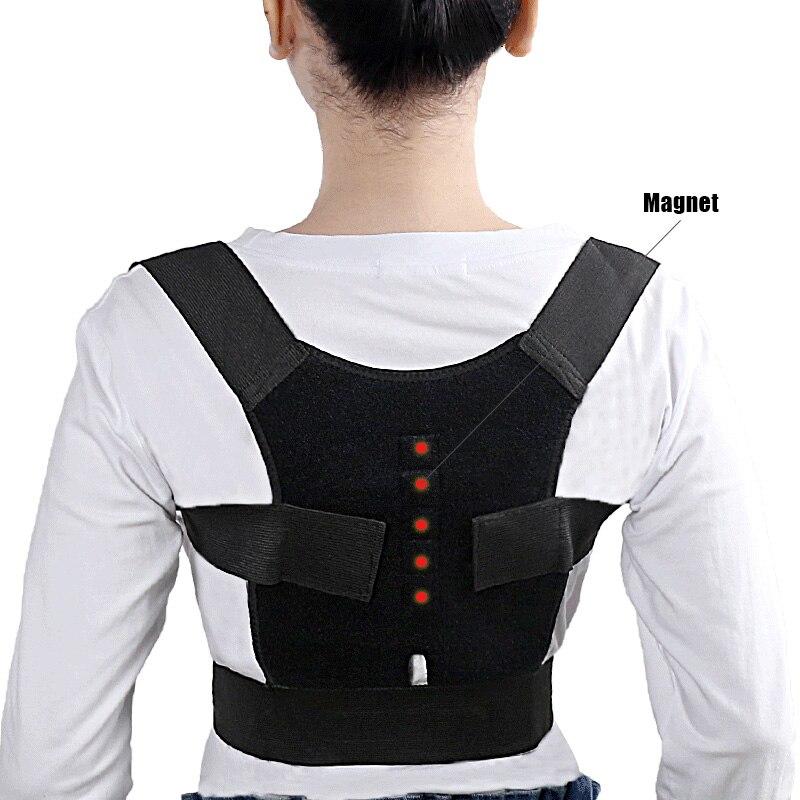 Adjustable Posture Correct Braces Supports Back Belt Support Corset Back Lumbar Shoulder Correcting RJ99