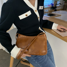 Crossbody Bags for Women Fashion Women Korean Style Shoulder Bag Messenger  Ladies Casual Solid Color Shoulder Bag punk style solid color and rivets design women s shoulder bag