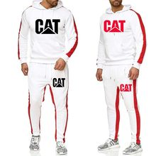 Men's sportswear hoodie pants suit spring track suit clothes casual sportswear men's sweatshirt coat male jogger(China)