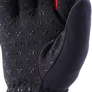 Image 5 - Masontex الشتاء قفازات للدراجات النارية التدفئة Guantes موتو قفازات USB تسخين كهربائي قفازات مع بطارية للتزلج ركوب M 2XL