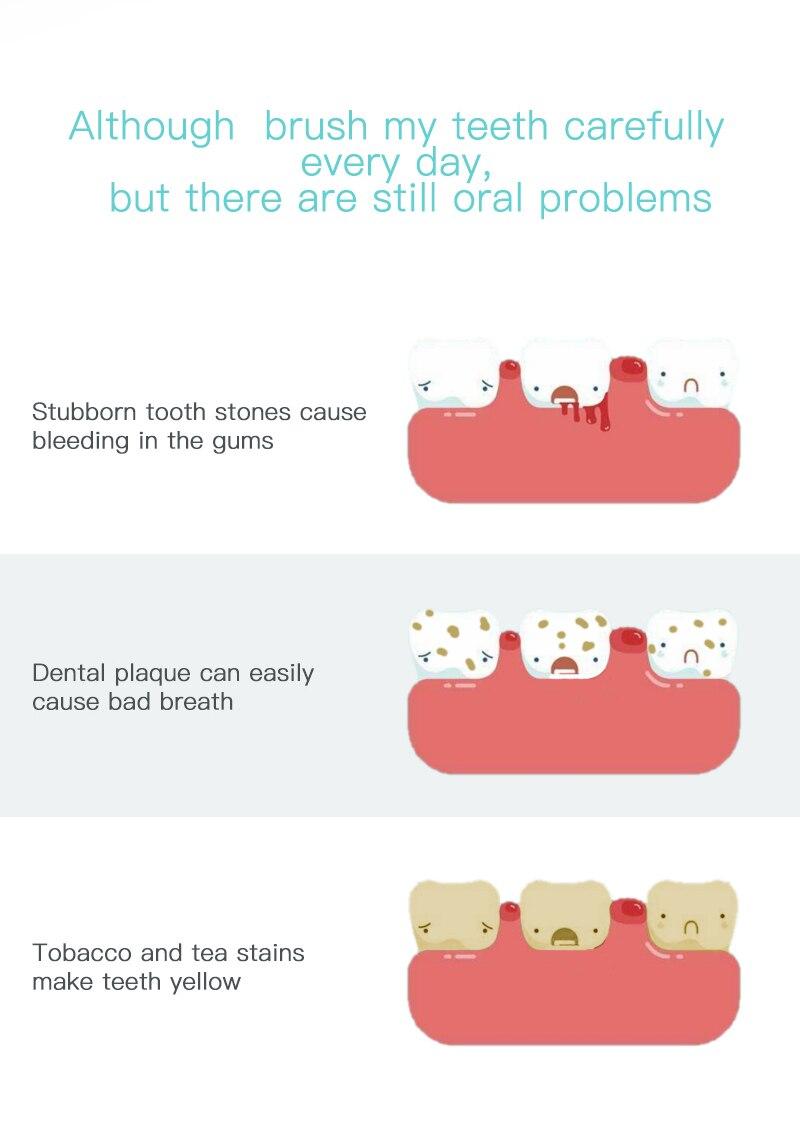 Scaler dental sônico elétrico portátil ultra sônico