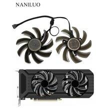 2 шт./компл. 87 мм (90 мм) GA91S2U GPU VGA карта кулер вентилятор для Palit GeForce GTX 1080 1070Ti 1070 1060 две видеокарты в к