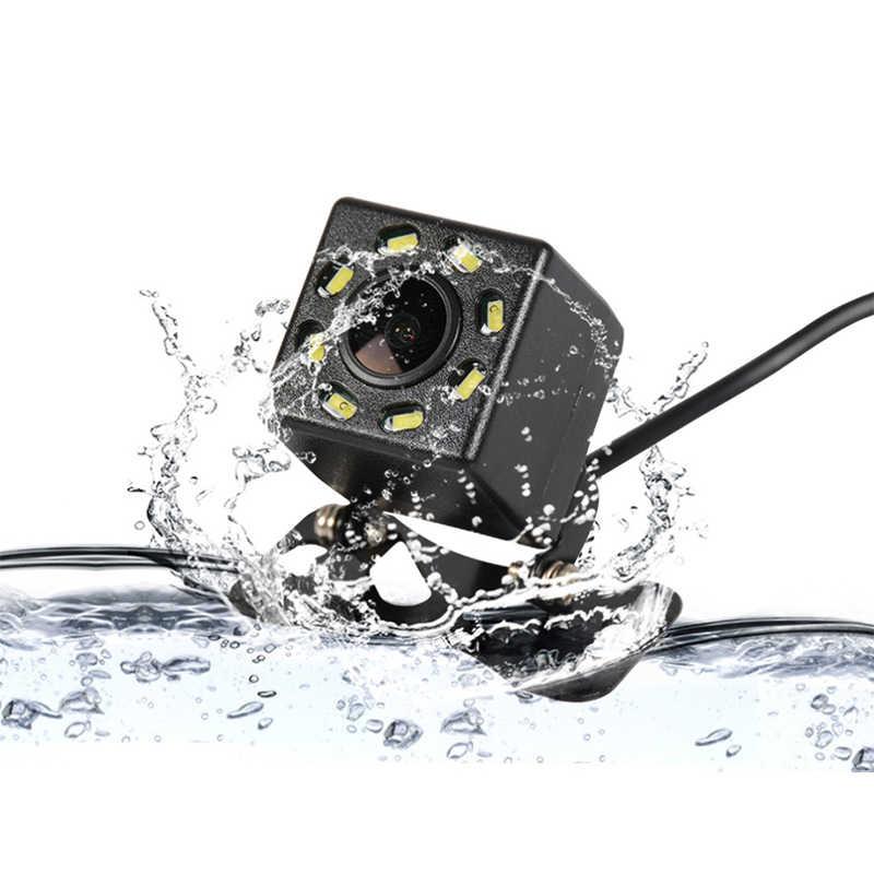 شحن مجاني سيارة كاميرا الرؤية الخلفية HD CCD العالمي للرؤية الليلية عكس وقوف السيارات مقاوم للماء كاميرا الرؤية الخلفية NTSC نظام التلفزيون