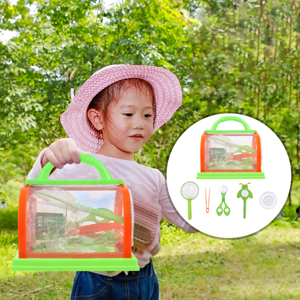 1 Set Insect Science Insect Cage Outdoor Bug Collection Observation Box