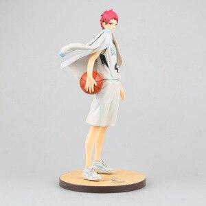 Image 1 - אנימה Kuroko אין סל Seirin כדורסל מועדון אקאשי Seijuro אזור מדי GAKUEN Rakuzan פעולה איור PVC דגם אוסף צעצוע בובה
