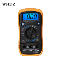 цена на DT830B  Mini Multimeter LCD Digital Multimetro Volt Amp Ohm Tester Meter Voltmeter Ammeter Overload Protection With Probe