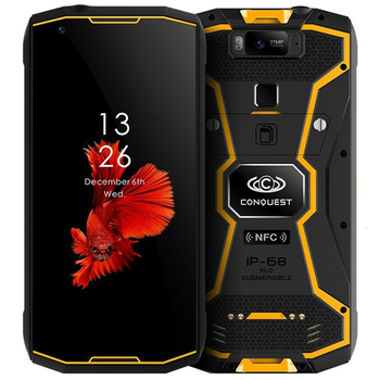 Conquest S12 pro 6GB+128GB 8000mAh NFC IP68 Waterproof shockproof Mobile Phone 5.99