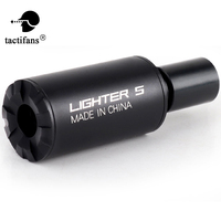 Tactical Airsoft Auto Lighter S Tracer Flash Barrel Decorator For Automatic Rifle Pistol CS Shooting Paintball Accessories