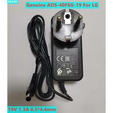 Nowy oryginalny ue wtyczka LCAP26-E Adapter AC dla LG ADS-40FSG-19 19V 1 3A zasilanie monitora tanie tanio EKAWI CN (pochodzenie) 19 v