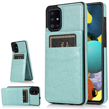 Funda de teléfono para Samsung Galaxy A71 5G, billetera de cuero con soporte, Glaxay A 71 G5 Gaxaly 71A S71