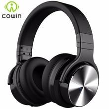 Cowin หูฟังพร้อมไมโครโฟนสำหรับโทรศัพท์ เสียงรบกวนที่ใช้งานหูฟังไร้สาย E7Pro
