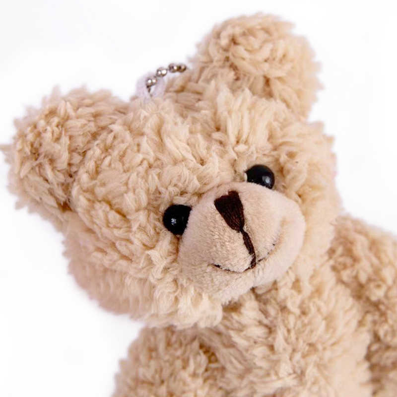 Kawaii Gadis Mewah Mainan Boneka Liontin Cute Blush Beruang Menggantung Liontin-untuk Anak Perempuan Tas Lembut Hang-Liontin Gantungan Kunci mainan untuk Anak-anak Hadiah