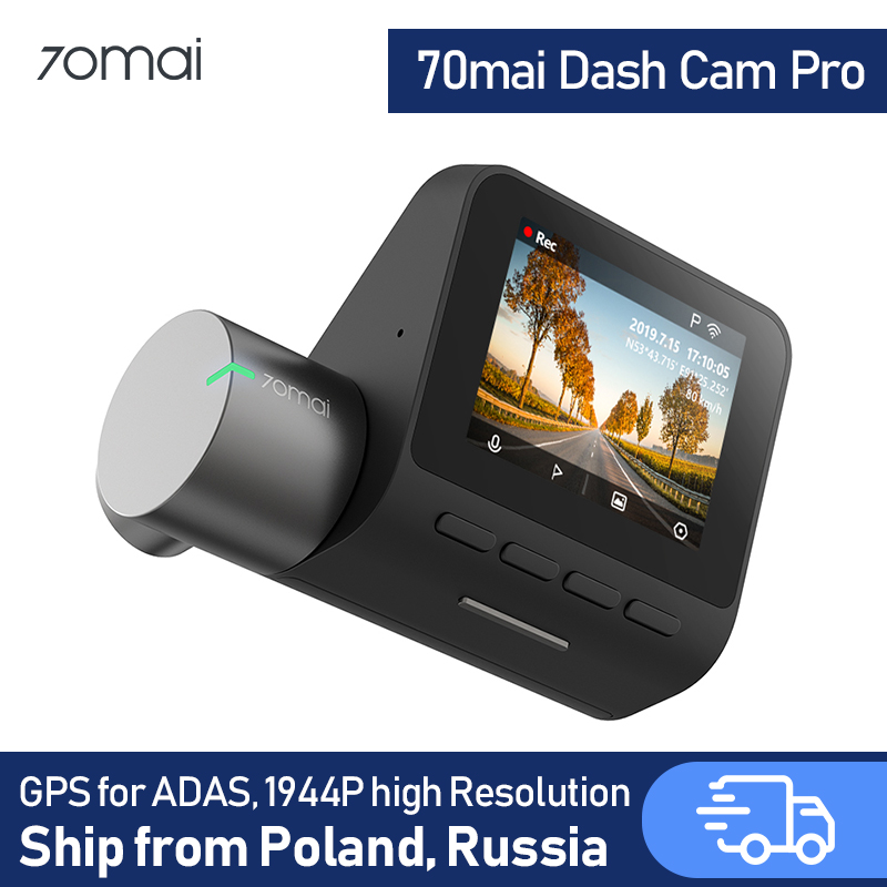 70mai Dash Cam pro Car DVR 1944P with Night Vision