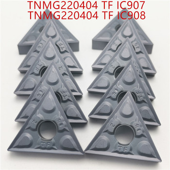 Hard Alloy TNMG220404 TF IC907 IC908 External Turning Tools TNMG2204048 Carbide inserts Lathe cutter Cutting Tool CNC Tools