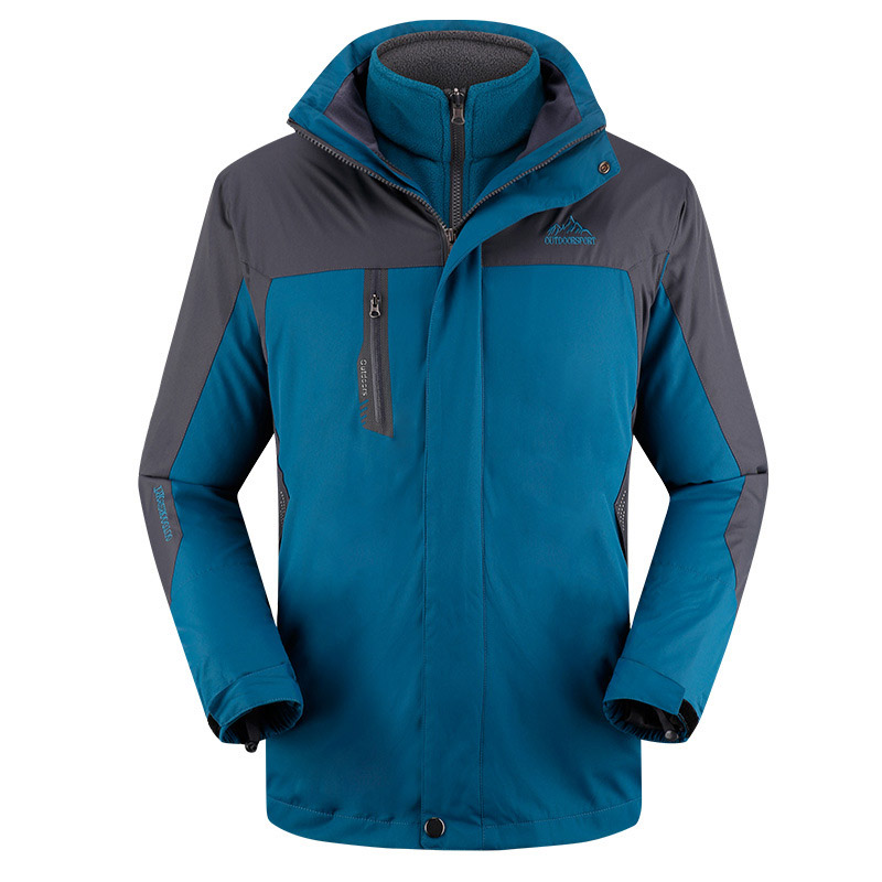 Waterproof Mountain Ski Jacket For Men Hiking Warm Ski-wear Outdoor Sports Skiing Snowboard Jackets Windproof Snow Coat Brand