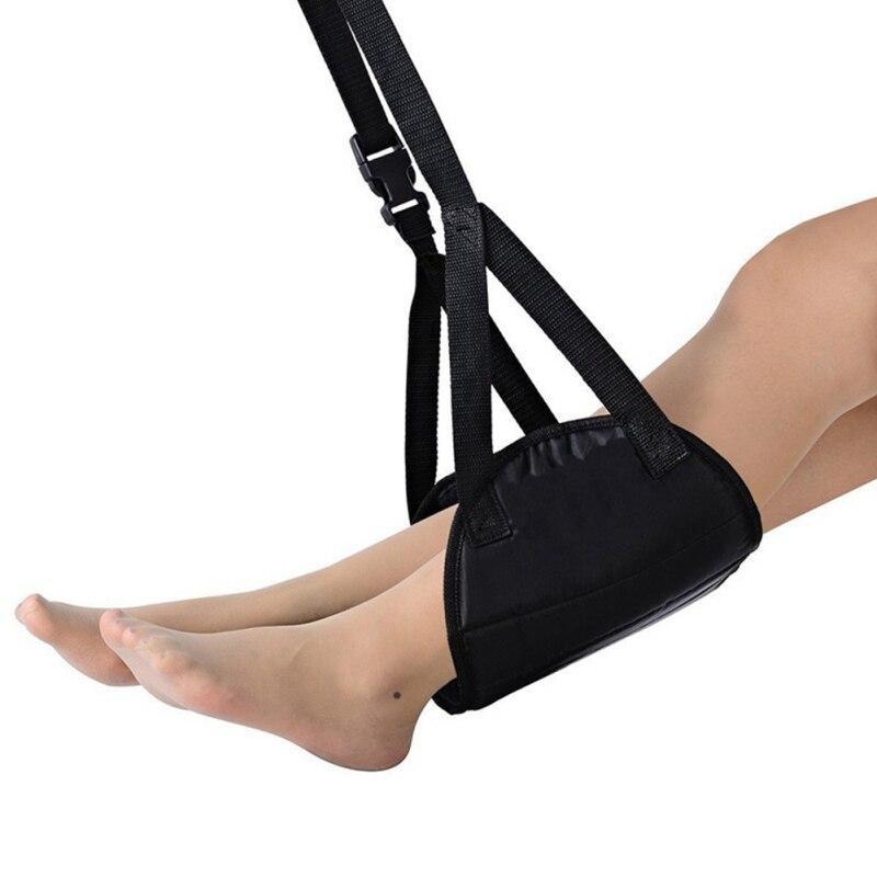 Portable Adjustable Feet Hammock Travel Footrest Carry Flight Leg Pad Office Plane Under Desk Foot Outdoor Indoor Rest Toolss