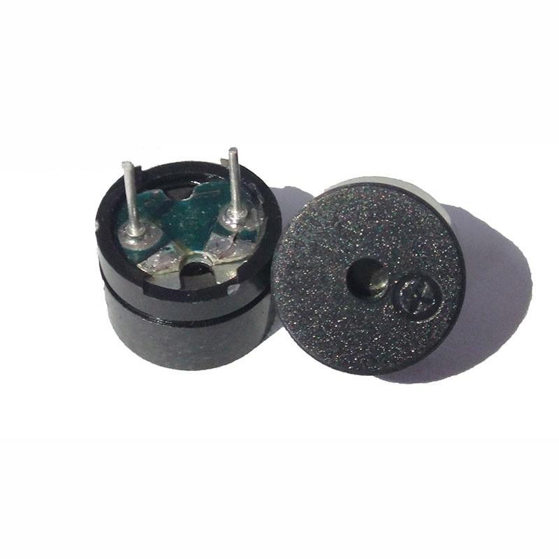 10pcs/lot Universal Passive Buzzer Electromagnetic Impedance 16 Ohms AC / 2KHz 3V 5V 12V Universal