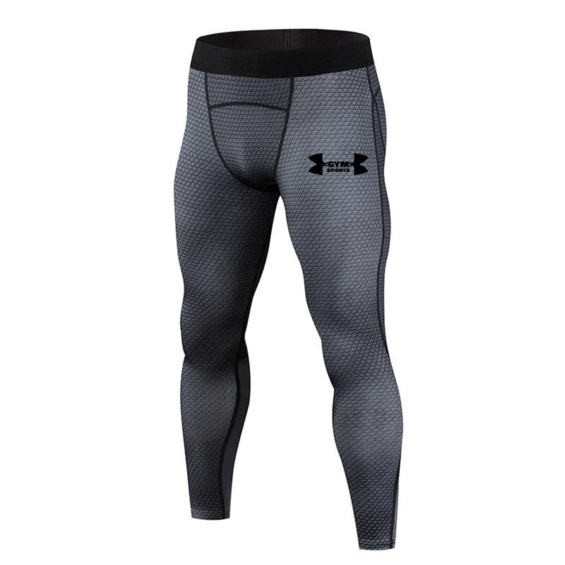 2019 Hot New Compression Pants Jogger Men Training Fitness Sports Leggings Gym Jogging Long Pant Male Sportswear Yoga Bottoms
