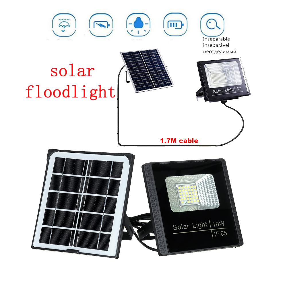 Solar Powered Panel LED Spot Light Landscape Outdoor Garden Path Lawn Lamp Street Lights Solar Yard Decoratoin Lights Luminaria