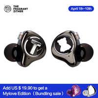 TFZ MONICA grenze Hifi kopfhörer Moving Kreis In Ohr headset mit 2pin Interface Stereo In-ohr Hearphone Abnehmbare Design