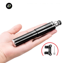 ROCKBROS Bike Pump Inflator Hand Mini Portable Schrader Presta Valve Cycling Air Accessories MTB Bicycle Tire