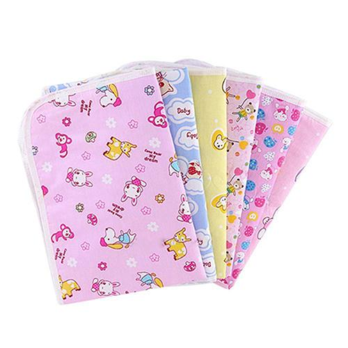 Unisex Newborn Baby Urine Mat Reusable Baby Infant Diaper Urine Mat Waterproof Bedding Changing Cover Pad