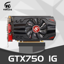 Original Graphics Card GTX 750 1GB 128Bit GDDR5 Video Cards for nVIDIA Geforce GTX750 Dvi VGA Card stronger than HD6450 2GB,650