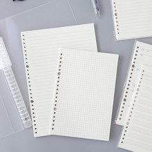 Weekly-Planner-Accessories Journal School-Stationery A5 Loose Office 016029 Notepad Store-Supplies