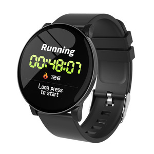 Image 1 - W8 Smart Watch Waterproof Men Women Blood Pressure Heart Rate  Monitor Weather Forecast Fitness Sport Smartwatch For Android IOS