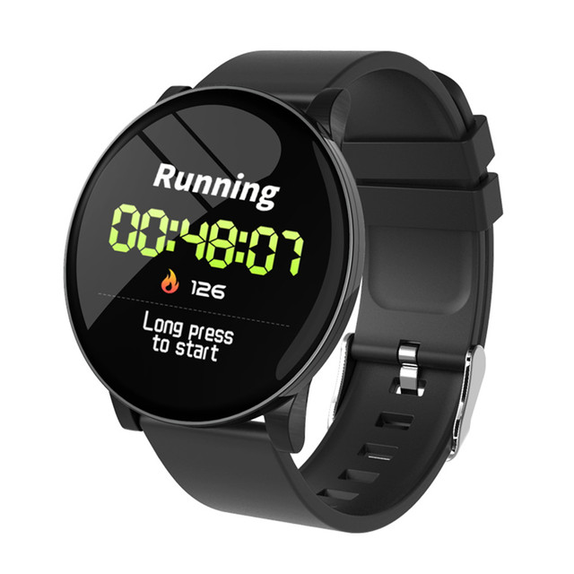 W8 Smart Watch Waterproof Men Women Blood Pressure Heart Rate  Monitor Weather Forecast Fitness Sport Smartwatch For Android IOS