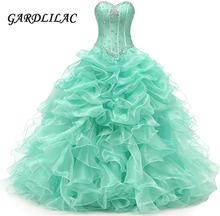Gardlilac 2021 милое бальное платье платья quinceanera бисерное