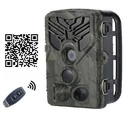 SUNTEK bezprzewodowy telefon wifi podłącz kamera obserwacyjna 20MP 1080P kamera myśliwska podczerwieni Night Shot & Vision wodoodporna dzika kamera w Myśliwskie aparaty fot. od Sport i rozrywka na