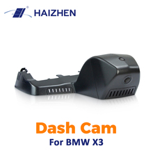 цена на Original HAIZHEN Hidden car camera DVR F1.4 Night Vision WiFi APP Control Dash Cam For BMW X3 driving Recorder camera dvr car#