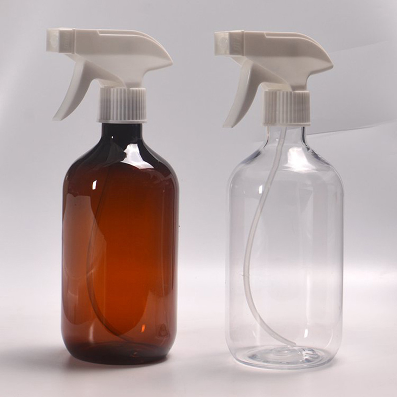 1 шт., 300 мл/500 мл, бутылки для распыления, пластиковые многоцветные многоразовые бутылки, пустой контейнер с откидной крышкой, Дозирующий инс...