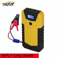 GKFLY dispositivo di avviamento di emergenza Car Jump Starter Power Bank 12V Starter portatile caricabatteria per Auto batteria Auto Booster Buster