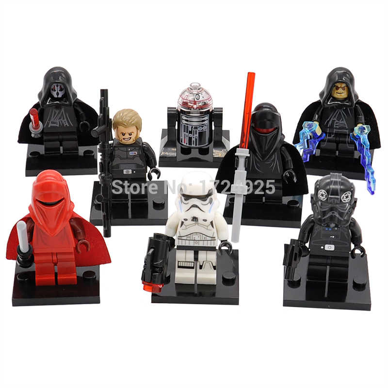 Single Sale Star Wars Red Guard Figure Inquisitor Erso Death Shadow Troopers Darth Malgus Building Blocks Bricks Toys