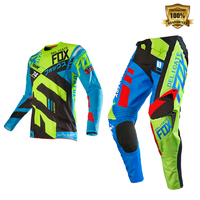 New Arrival Delicate Fox MTB Bike Downhill Mountain Bicycle Motocross Motorcycle Gear Set Moto Kits Mens Suit
