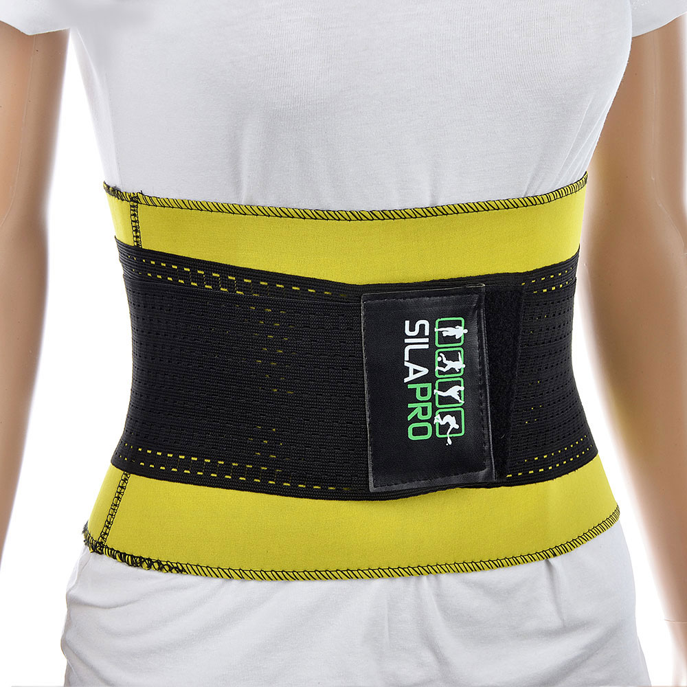Silapro Belt For Weight Loss, Stretch, Rubberized Ribbon, 30x23 Cm